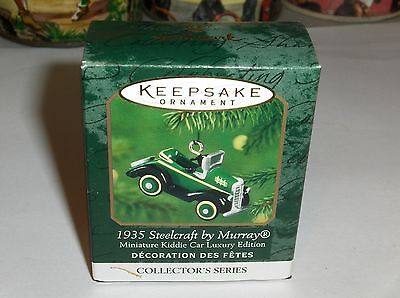 1935 Steelcraft By Murray`2000`Miniature-3Rd Kiddie Car Luxury,Hallmark Ornament