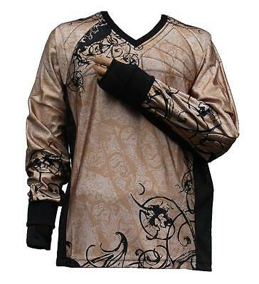 "Tournament Paintball Jersey ""Ghost"" Braun Gotcha Shirt Oberteil Trikot"