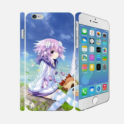 Hyperdimension Neptunia 011 - Apple iPhone 4 5 6 Hardshell Back Cover Case