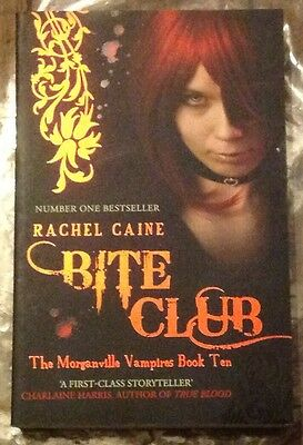 *NEW* Bite Club By Rachel Caine Morganville Vampires Book 10 Rpsbooks