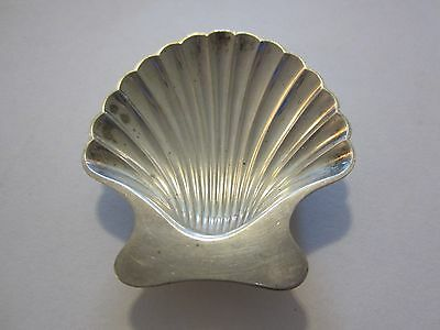 Vintage Tiffany & Co. Sterling Silver Shell Candy/Nut Dish