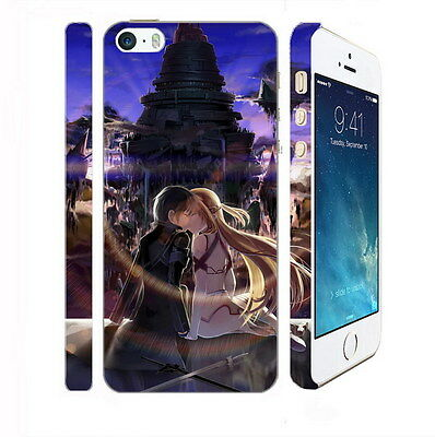 Sword Art Online 424 - Apple iPhone 4 5 6 Hardshell Back Cover Case