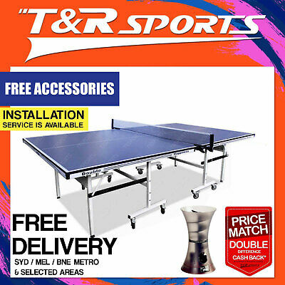 25Mm Top Table Tennis/ping Pong Table Free Bats/balls/net/cover/metro Delivery