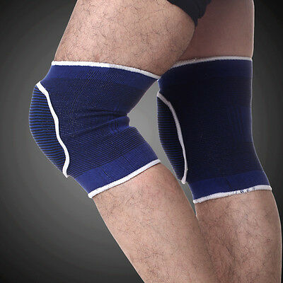 Single Knee Guard Thicken Sponge Athletic Boxing Dancing Cotton Protect Knee X37