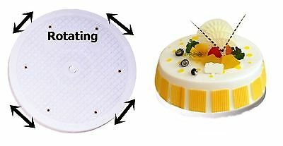 "10"" Cake Decorating Rotating Revolving Icing Kitchen Display Turntable Stand"