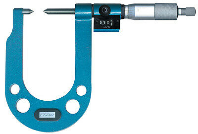 Fowler 52-234-522-0 Extended Range Point Micrometer - Inch