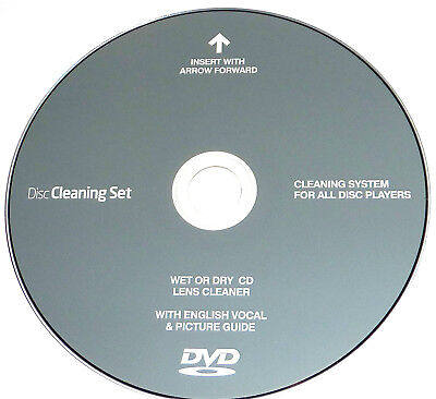CD DVD Disc Drive Cleaner Cleaning Laser Lens for Laptop Computer PS2,3,4 Xbox