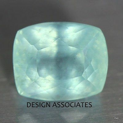 Aquamarine 10X8 Mm Cushion Cut Outstanding  Color All Natural Moon Glow