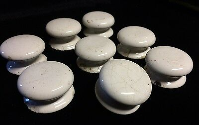 8 Antique China Chest Of Draw Handles , Salvage Reclaimed Apothecary Door Pull