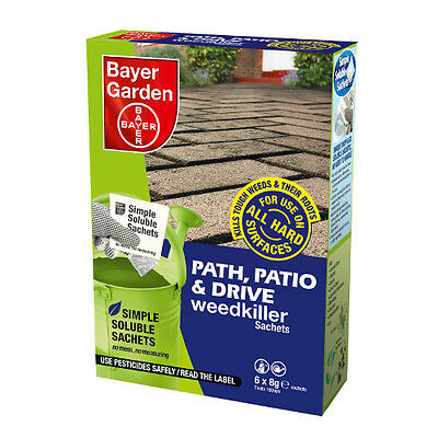 Path, Patio and Drive 6 sachets Bayer Garden