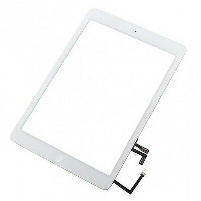 iPad 5 Air 1st Gen Glass Digitizer Touch Screen Display WHITE Assembly Home Btn