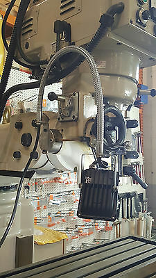 "LED Work Light 24"" Flex Gooseneck Bench Milling Machine Lathe Grinder 1300 Lumen"