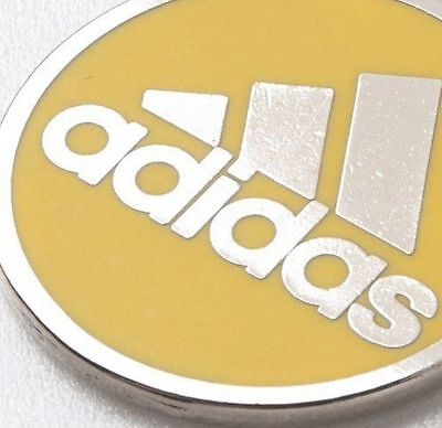 Adidas JAPAN Football Referee Toss Coin Yellow White Judge Z1330