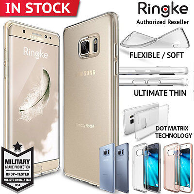 Galaxy S7 Edge Case Genuine RINGKE Air Slim rubber Cover For Samsung