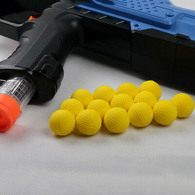 10pcs Round Refill Pack Replace Bullet Balls for Nerf Rival Apollo Zeus Toy Gun