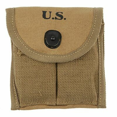 Wwii Ww2 Us Military M1 Carbine Rifle Mag Ammunition Pouch Bag
