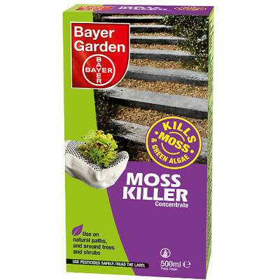 Moss Killer Concentrate 500ml Bayer Garden