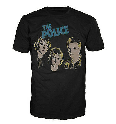 The Police - Outlandos Heads T-Shirt (Official Merchandise)