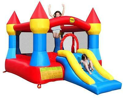 Duplay 12ft x 9ft Castle Bouncer Bouncy Castle with Slide - 9017