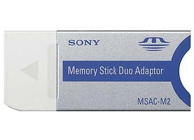 Sony Memory Stick Duo Adapter Pro Duo MSAC-M2 1GB 2GB 4GB 8GB 16GB 32GB ProDuo