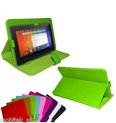 "Universal Leather Stand Case Cover 9"" Inch 10"" InchTab Android Tablet PC"