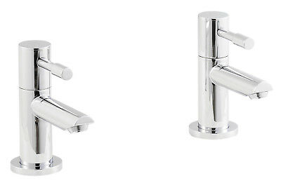"VeeBath Julia 1/2"" Chrome Plated Lever Basin Taps With Ceramic Disc Technology"