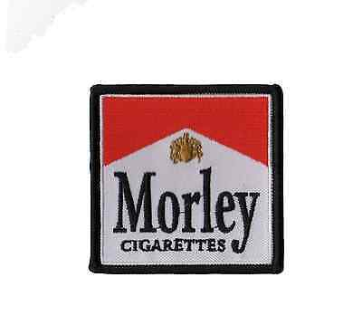 X Files Morley Iron on Patch Cigarette Smoking Man from The X Files