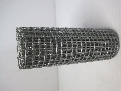 "1045 Wire Mesh 5-1/4"" x 36"" .025"" Mesh Great Condition FREE Shipping Conti USA"