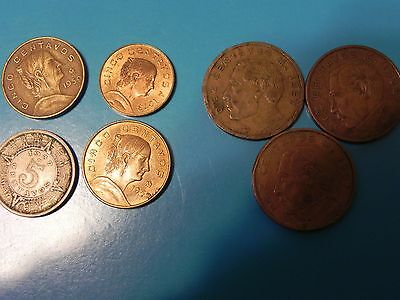7 Mexican Coin One Price And Free Shipping
