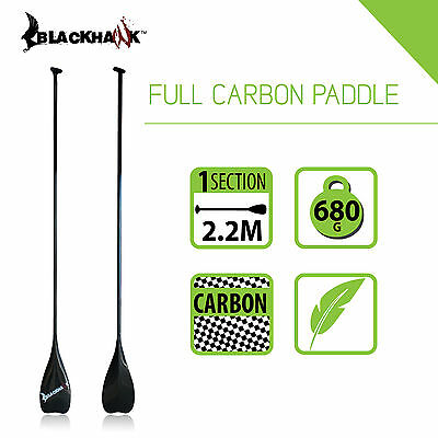 Blackhawk Stand Up Board Sup Fixed 2.1M Full Carbon Paddle