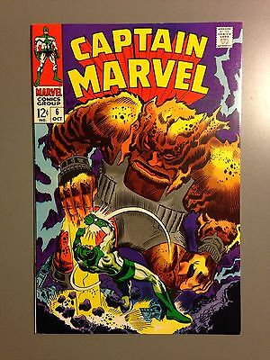 Final Offering- CAPTAIN MARVEL #6 High Grade VF/NM Marvel Comics Beautiful!!
