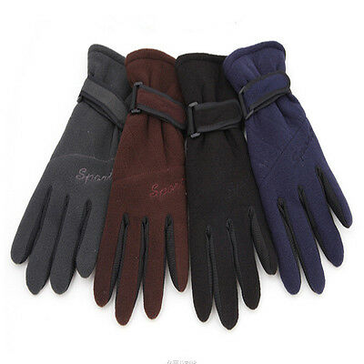 Outdoor Gloves Thicken Waterproof Warm Men's Camping Hiking Hand Protection T170