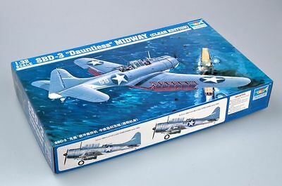 ◆ Trumpeter  1/32 02244 SBD-3 DAUNTLESS MIDWAY CLEAR EDITION model kit