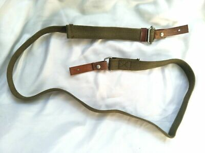 Apparel Accessories Surplus Vietnam War Chinese Army Pla Type 56 A-k Leather Sling 31881