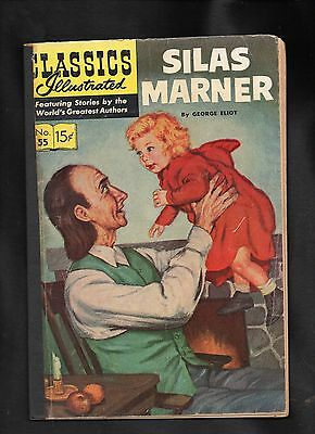 Classics Illustrated #55 Poor  Hrn121 (Silas Marner) George Eliot