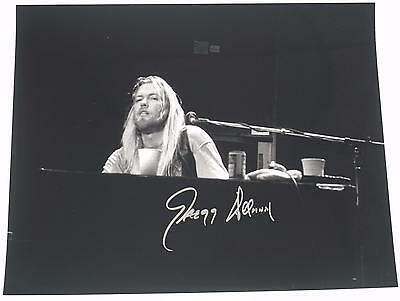 Gregg Allman THE ALLMAN BROTHERS BAND Signed Autograph 11x14 Photo