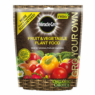 Miracle-Gro Gro Your Own Vegetable and Fruit Plant Food 1.5kg