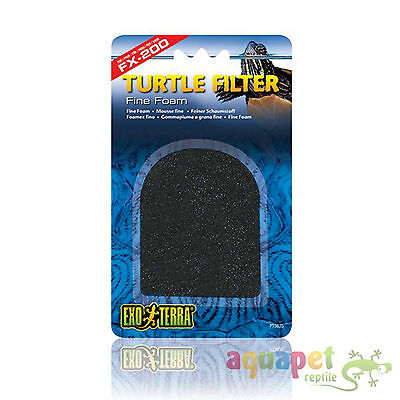 Exo Terra FX-200 Turtle Filter Replacement Fine Filter Foam Pads