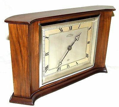 Walnut PIDDUCK & SONS HANDLEY & SOUTHPORT Bracket Mantel Clock ELLIOTT LONDON
