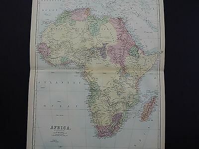 Black's 1876 Atlas, Africa, Double Page S10