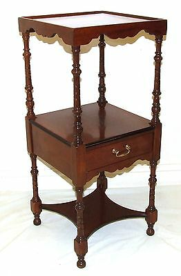 Antique Mahogany Pot Cupboard / Lamp Stand / Bedside Cabinet : Antique Style