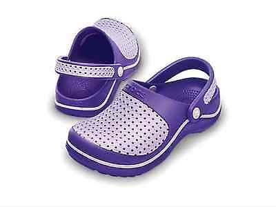 New CROCS Junior CrosMesh Kids Girls Clogs Shoes Sandals - Infant and Kids sizes