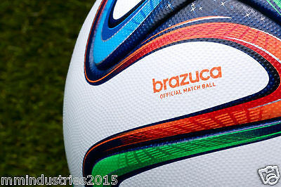 ADIDAS BRAZUCA SOCCER MATCH BALL|FIFA WORLD CUP 2014 ORIGINAL REPLICA(Free Ship)
