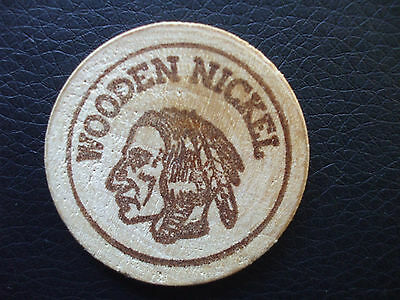 Wooden Nickel, First Security Bank, Boise, Idaho