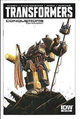 TRANSFORMERS # 49 (CONQUERORS Conclusion, JAN 2016), NM NEW