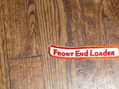 front end loader  patch,new old stock, 60's