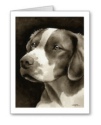 BRITTANY note cards by watercolor artist DJ Rogers