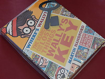 WHERE'S WALLY? - THE SEARCH FOR LOST THINGS - 5 Puzzle Books in Bag