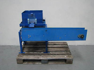 Conveyor with Hopper Feed - 1200mm long 120mm wide
