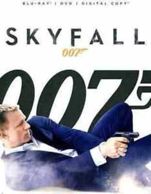 Skyfall-Bond 007 2 Disc Special Edition Bluray/Dvd Combo W/Sleeve-Rare & Oop-New